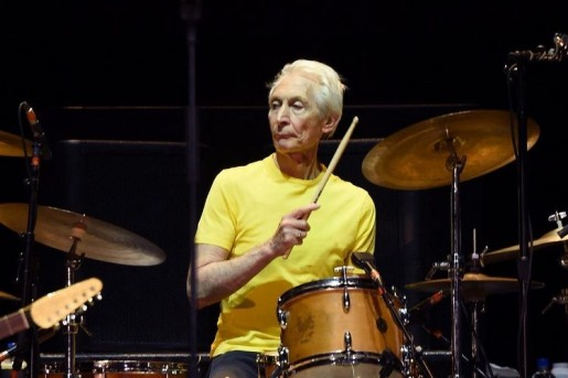 Star Radio - Drummer Band Rock and Roll The Rolling Stones, Charlie Watts Tutup Usia