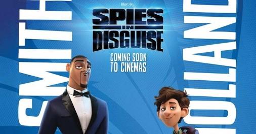 Star Radio - di-film-animasi-spies-in-disguise-will-smith-dan-tom-holland-bersatu