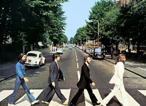 Star Radio - 50 Tahun Foto The Beatles di Atas Zebra Cross, Abbey Road Diserbu Fans