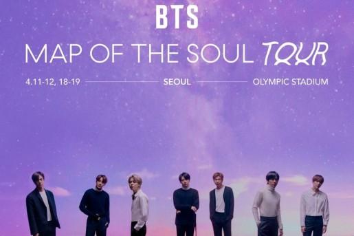 Star Radio - Sempat Ditunda, Big Hit Music Resmi Batalkan Konser Musik Dunia Map of the Soul Tour