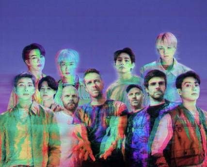 Star Radio - Coldplay x BTS Rilis Lagu Kolaborasi 'My Universe', Berikut Liriknya