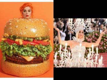 Star Radio - tampil-ekstrem-di-met-gala-2019-katy-perry-berdandan-ala-chandelier-dan-burger