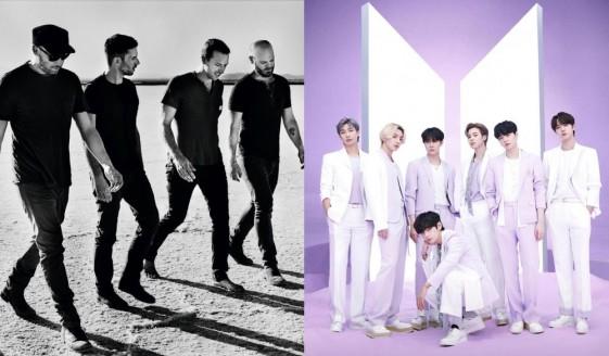 "Star Radio - Kolaborasi Coldplay Dan Bts Lewat Single Berjudul ""My Universe"""